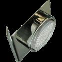 Ecola GX53-N82 св-к настенный угловой черный хром 52x130х111 FB5382ECB