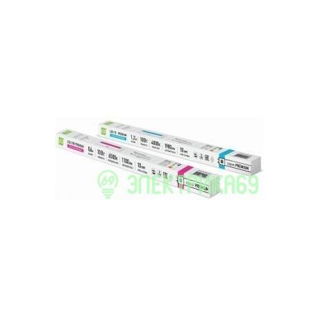 ASD T8R G13 220V 10W 4000К 4K 600x27 standart поворот. цоколь, стекло прозр. 7052