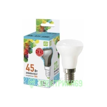 ASD R39 E14 5W 4000K 2K 69x39 пластик/алюм standard 6703