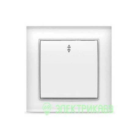 UNIVersal Бриллиант выкл. проходн. СУ 1 кл. бел. (пласт. осн.) 7947373