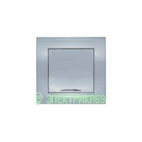 UNIVersal Бриллиант выкл. СУ 1 кл. серебро (пласт. осн., инд.) 7949643