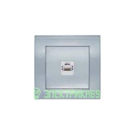 UNIVersal Бриллиант роз. компьют. СУ 1 мест. серебро (керам. осн., RG45) 7949858