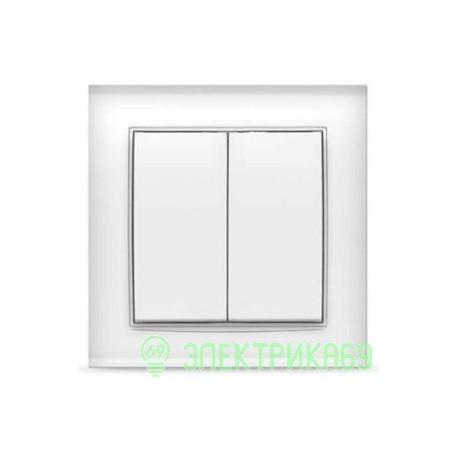 UNIVersal Бриллиант выкл. СУ 2 кл. бел. (пласт. осн.) 7947403