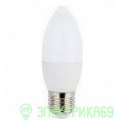 Ecola свеча E27 6W 4000K 4K 100x37 C7TV60ELC