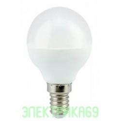 Ecola шар G45 E14 8W 2700K 2K 78x45 K4GW80ELC