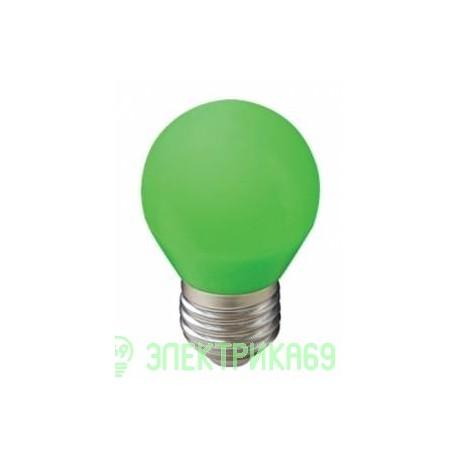 Ecola шар G45 E27 5W Зеленый матовый 77x45 K7CG50ELB