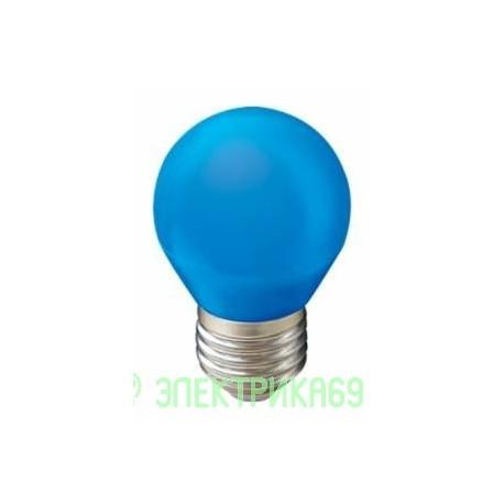 Ecola шар G45 E27 5W Синий матовый 77x45 K7CB50ELB