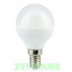 Ecola шар G45 E14 5.4W 4000K 4K 77x45 (5W) Premium K4QV54ELC