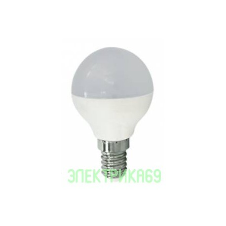 Ecola шар G45 E14 5.4W 2700K 2K 77x45 (5W) K4GW54ELC