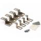 Ecola комплект подвесов потолочный для тонкой панели (подвес. уст-ка, уголки) PKC4TNELT