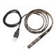 Jazzway Лента светодиодная PLS-TV-USB 0.9 WH 5050/30 IP54 black PCB  .2853424
