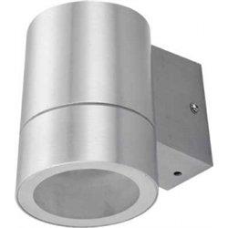 Ecola 8003A св-к прозр.цилиндр металл.сатин-хром IP65 1*GX53 114х140х90 FS53C1ECH