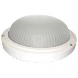 Ecola ДПП 03-18-103 св-к Круг матов. белый 3*GX53 IP65 280х280х90 Light TR53L3ECR