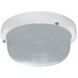 Ecola ДПП 03-7-001 св-к Круг матов. белый 1*GX53 IP65 185х185х85 Light TR53L1ECR