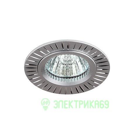 ЭРА KL32 AL/SL cв-к встр алюминиевый MR16,12V, 50W серебро