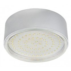 Ecola GX70-N50 св-к накладной пластик Серебро 42x120 FS70NFECD