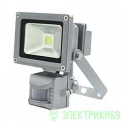 ASD прожектор св/д СДО-2Д-10 10W(800lm) 6500K 85-265V с датчиком движения