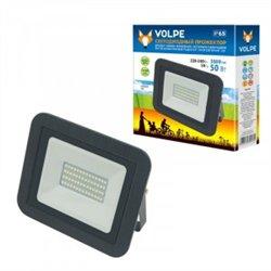 Volpe прожектор св/д 50W(3500lm) 6500K 220-240V металл/черный IP65 ULF-Q511 50W/DW