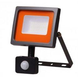 Jazzway прожектор св/д 30W(2250lm) 6500K 140x187x47 IP54 с д.движ. SMD PFL-SC-sensor .5001411