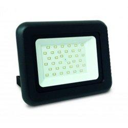 ASD прожектор св/д СДО-07 30W(2400lm) SMD 6500K 6K 137x125x34мм черный IP65 6467