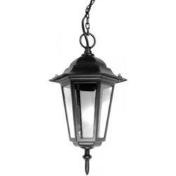 Camelion 4105 св-к уличный/садовый 'подвесной' черный 60W E27 220V алюминий/стекло IP43