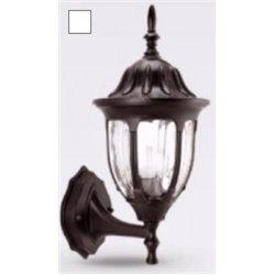 Camelion 4501 св-к уличный/садовый 'бра вверх' белый 60W E27 220V алюминий/стекло IP43