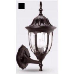 Camelion 4501 св-к уличный/садовый 'бра вверх' черный 60W E27 220V алюминий/стекло IP43