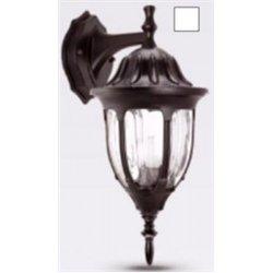 Camelion 4502 св-к уличный/садовый 'бра вниз' белый 60W E27 220V алюминий/стекло IP43