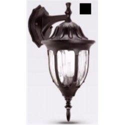 Camelion 4502 св-к уличный/садовый 'бра вниз' черный 60W E27 220V алюминий/стекло IP43