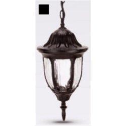 Camelion 4505 св-к уличный/садовый 'подвесной' черный 60W E27 220V алюминий/стекло IP43