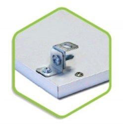 ASD/LLT комплект подвесов потолочный для панели св/д LP (короткий 1,5см) (цена за компл. 4шт.) 021.0