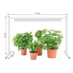 Uniel подставка для свет-ка для растений h350-420-490mm, L715mm, B20mm белый UFP-G03S WHITE