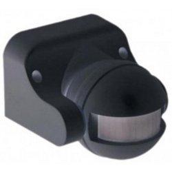 IEK Датчик движения ДД 009 черный, макс. нагр. 1100Вт, угол обз. 180гр., 12м IP44 LDD10-009-1100-002
