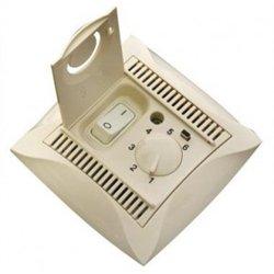 Schneider Дуэт термостат электр. 10А д/л теп. пола с датч. от +5° до +50°С бежевый WDE000238(+)