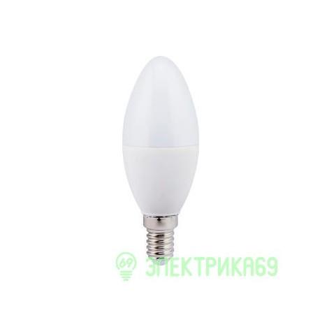 Ecola свеча E14 7W 2700 2K 110x37 пласт./алюм. Premium C4RW70ELC