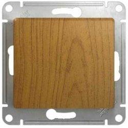 Schneider GLOSSA мех. выкл. СУ 1 кл. темный дуб (пласт. осн.) GSL000511