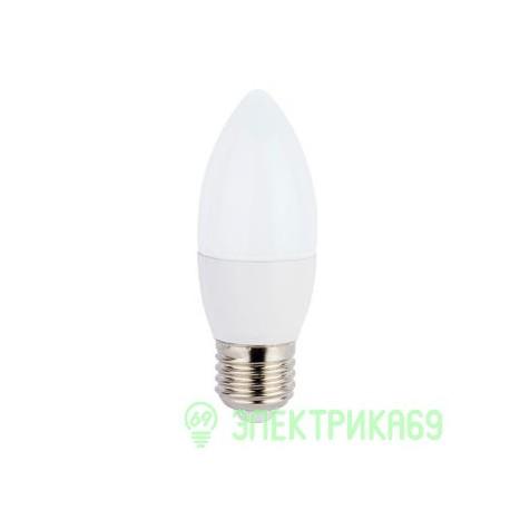 Ecola свеча E27 7W 2700 2K 103x37 пласт./алюм. C7LW70ELC