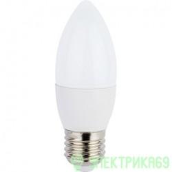 Ecola свеча E27 7W 4000 4K 103x37 пласт./алюм. Premium C7RV70ELC