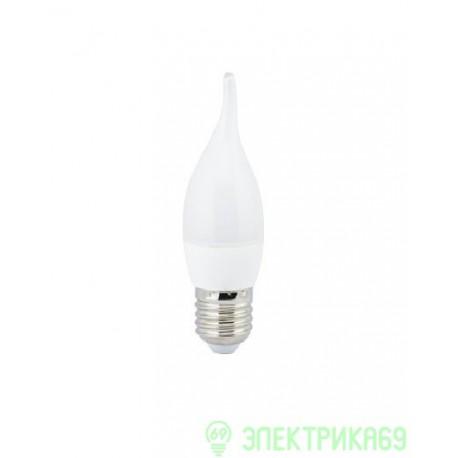 Ecola свеча на ветру E27 6W 2700 2K 118x37 пласт./алюм. C7YW60ELC