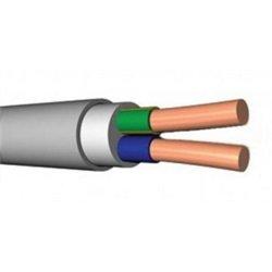 Кабель NYM/NUM 2х2,5 (ГОСТ) (Калужский кабельный завод) силовой медный изоляц. ПВХ+резина+ПВХ 660В