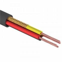 Шнур комбинированный ШВЭП (ШСМ) 4x0.12мм, 200м., черный  REXANT, 01-4034