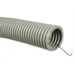 T-plast (Wimar) труба гофр. ПВХ d 25мм с зондом (бухта 50м) цена за 1м 55-01-002-0003
