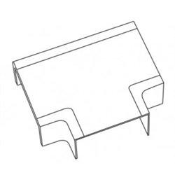 T-plast Угол T-образный 40х16 белый (уп 4шт, цена за ШТУКУ!!!) 50-15-004-005