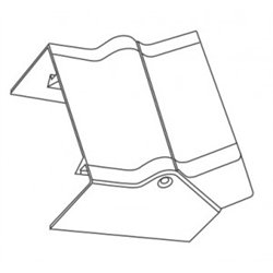 T-plast Угол внутренний 25x16 белый (уп 4шт, цена за ШТУКУ!!!) 50-15-001-004