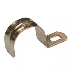 IEK скоба метал. 1-х лапковая d10-11мм (уп. 100шт., цена за 1шт.) CMAT10-10-100