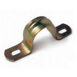 IEK скоба метал. 2-х лапковая d16-17мм (уп. 100шт., цена за 1шт.) CMAT11-16-100