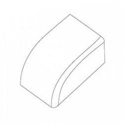 T-plast Заглушка 100х40 белая (уп 2шт, цена за ШТУКУ!!!) 50-15-005-008