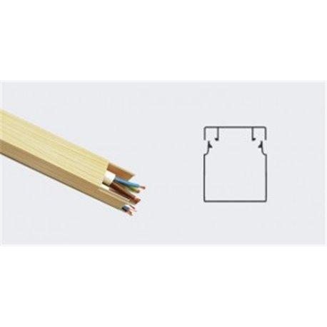 T-plast кабель-канал ПВХ 25х25 с текстурой дерева сосна 3D 2м (цена за 1м) 50-01-007-0006