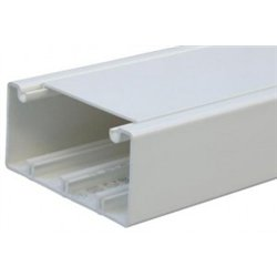 T-plast кабель-канал ПВХ 40х16 белый 2м (цена за 1м) 50-01-001-0008