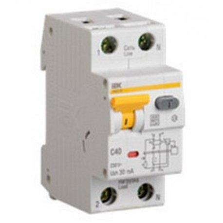 IEK АВДТ 32 2P С25 дифф. автоматический выключатель 30мА 2мод. 6кА MAD22-5-025-C-30
